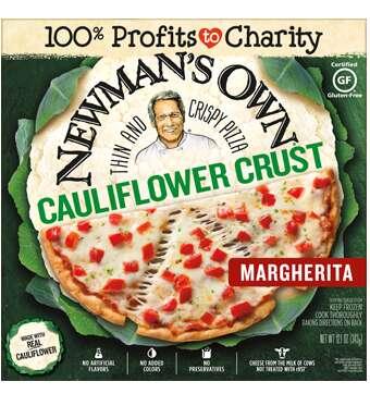 Thin Cauliflower Crust Pizzas