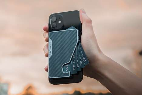 Magnetic Anti-RIFD Smartphone Wallets