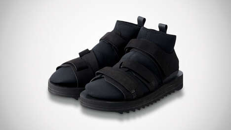Sock-Equipped Sport Sandals