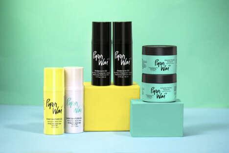 Ocean Plastic Deodorant Packaging