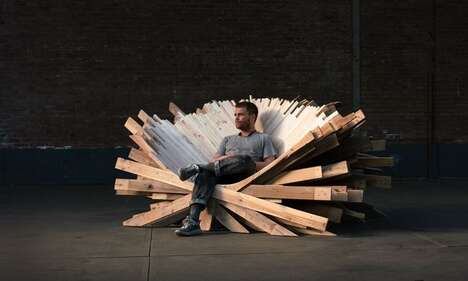 Recycled Pallet Seating Solutions