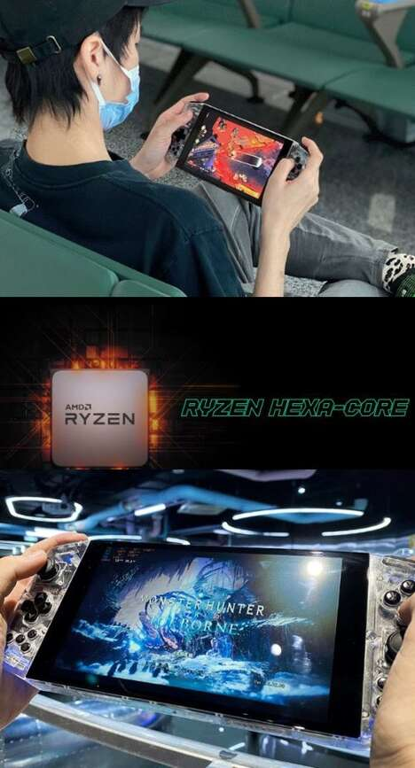 Performance-Focused Portable Gaming Consoles