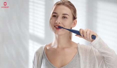 Electric Touchscreen Toothbrushes
