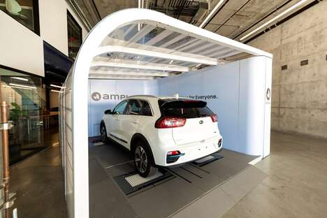 Electric Vehicle Battery Stations