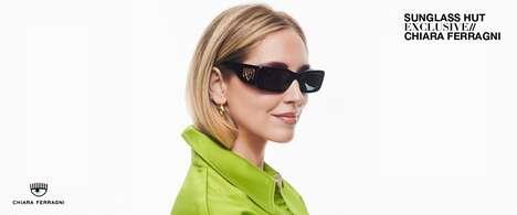 Dynamic Female Entrepreneur Sunglasses