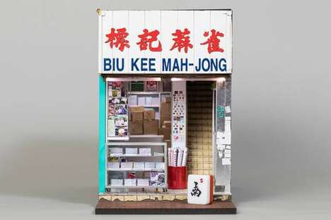 Miniature Mahjong Shop Designs