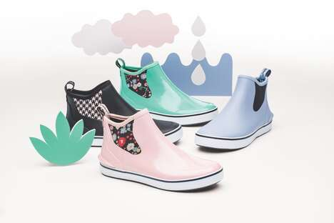 Slip-On Rain Sneakers