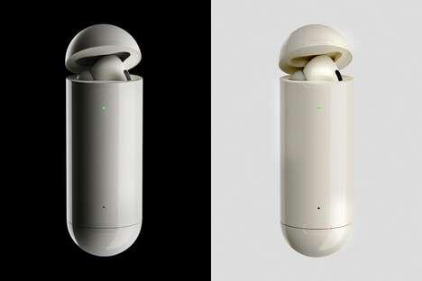 Tubular Wireless Earbud Cases