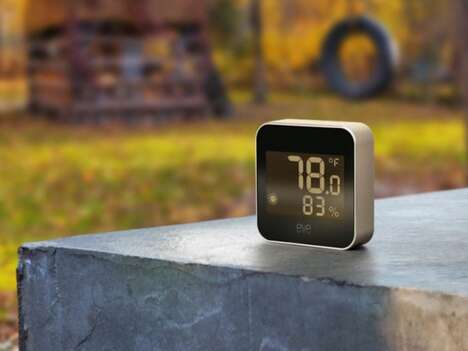 Connected Garden Weather Trackers
