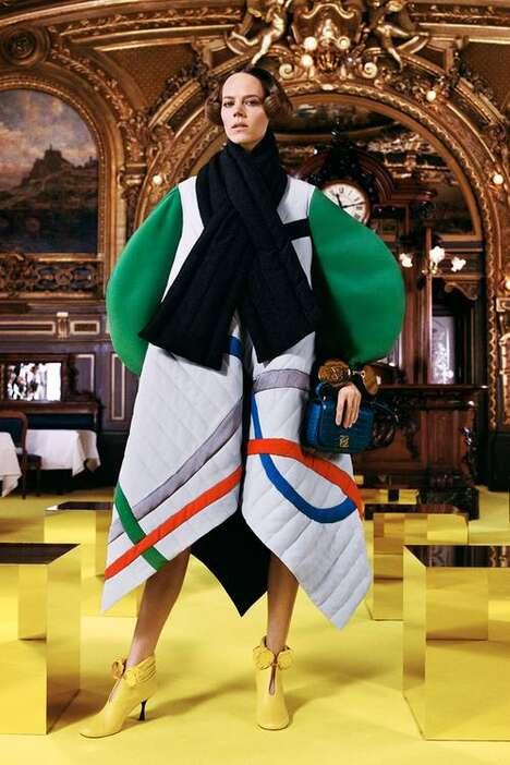 Newspaper-Themed Fall Fashion