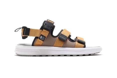 Minimal Tonal Summer Sandals