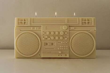 Boombox Structured Candles