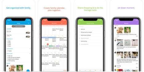 Family Shared Calendar Apps
