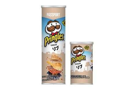 Rib-Flavored Potato Chips