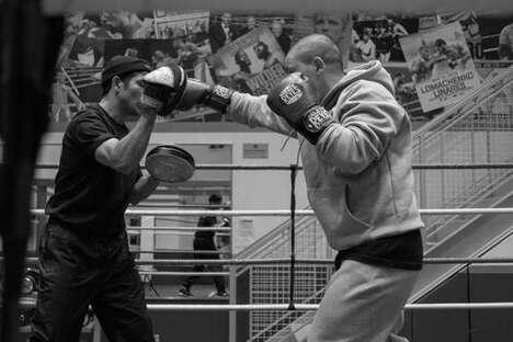 Gritty Boxing Themed Sportswear
