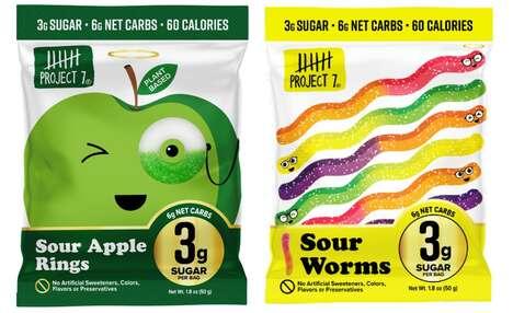 Plant-Based Low-Sugar Candies