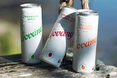 Fruit-Fueled Sparkling Beverages