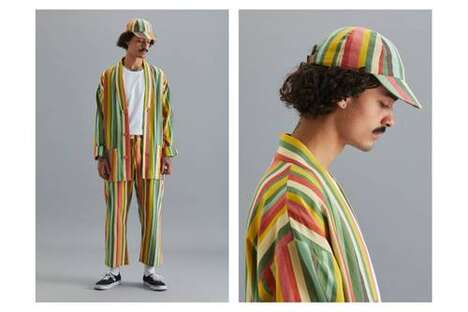 Bold Tonal Patterned Menswear