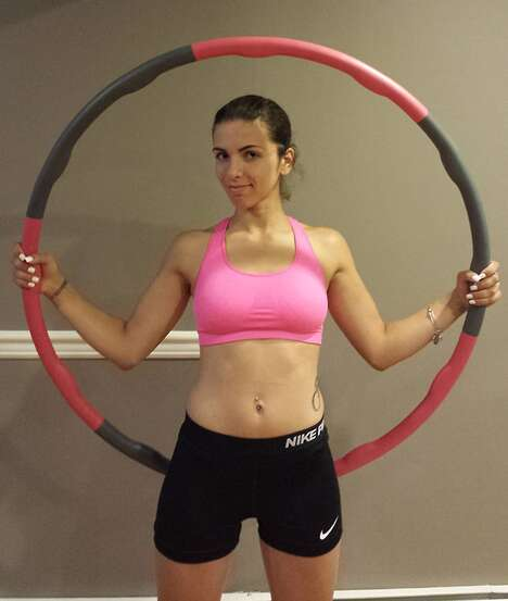 Weighted Exercise Hula Hoops
