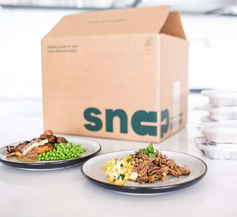 Comfort-Inspired Meal Services