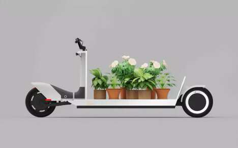 Electric Cargo Sleds