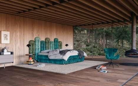 Modular Art Deco-Inspired Beds