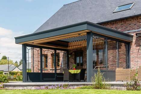 App-Connected Patio Coverings