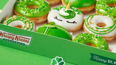 St. Patrick's Day-Themed Donuts