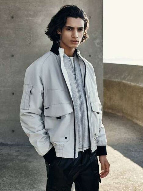 Eco-Conscious Transitional Outerwear