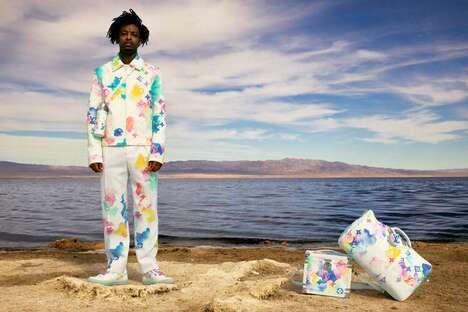 Rapper-Showcased Luxe Seasonal Menswear
