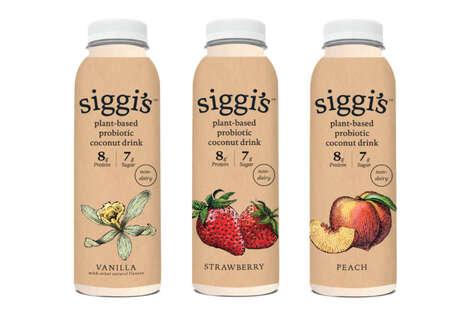 Plant-Based Probiotic Beverages