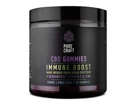 CBD-Infused Immunity Gummies