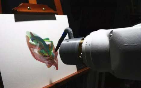 AI-Powered Painting Robots