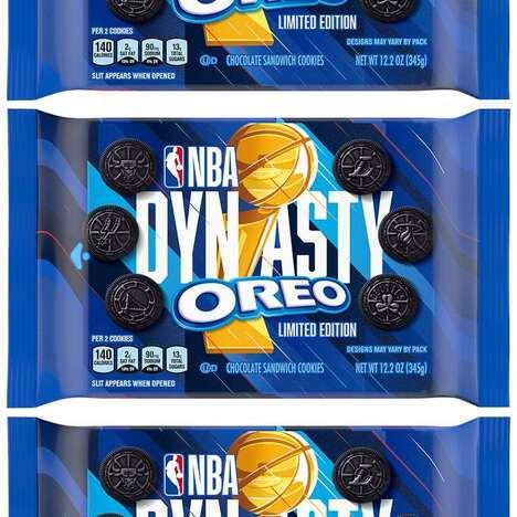 Basketball-Themed Sandwich Cookies