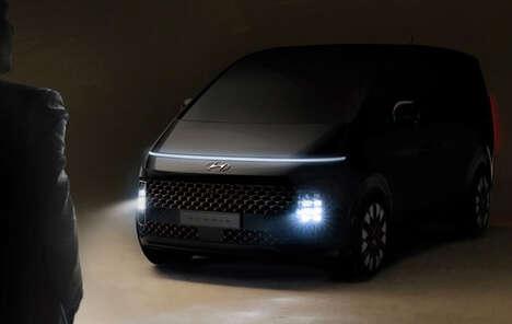 Spaceship-Inspired Minivans