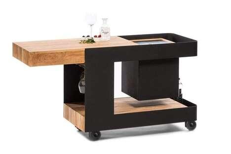 Bar Cart Side Tables