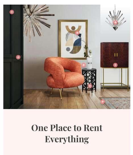 Rentable Furniture Marketplaces