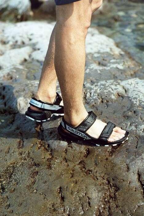 Seasonally Appropriate Collaborative Footwear