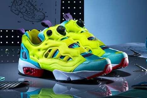 Vivid Tonal Hybrid Sneakers
