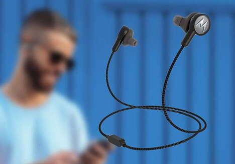 Detachable Neck Strap Earbuds