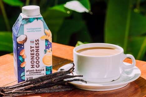 Plant-Based Ethically-Sourced Coffee Creamers