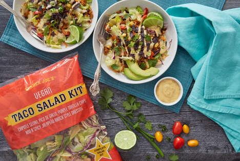 Plant-Based Taco Salad Kits