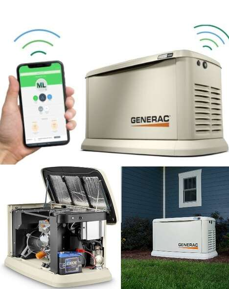 WiFi-Enabled Backup Generators