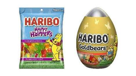 Springtime-Themed Gummy Candies