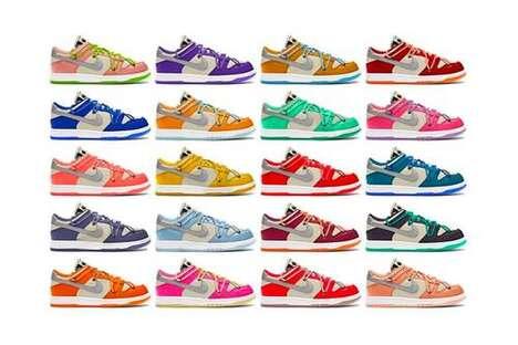 Multi-Tonal Expansive Sneaker Collabs