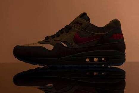 Dark Tonal Traditional Sneakers