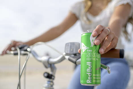 Pitaya-Flavored Energy Drinks