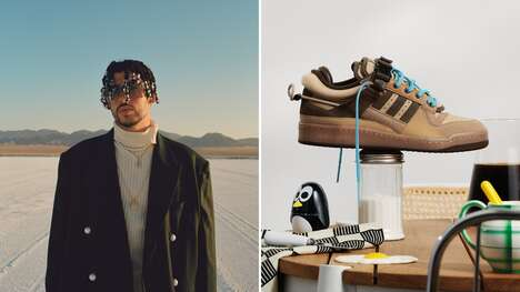 Coffee-Inspired Reggaeton Star Sneakers