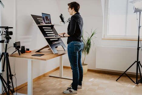 Multilevel Standing Desk Adapters