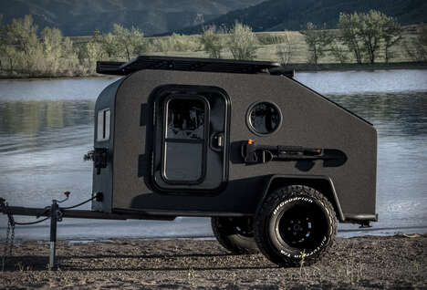 Wilderness-Ready Camping Trailers
